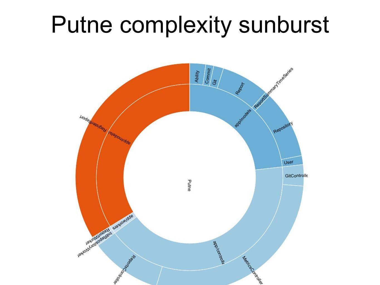 Putne complexity sunburst