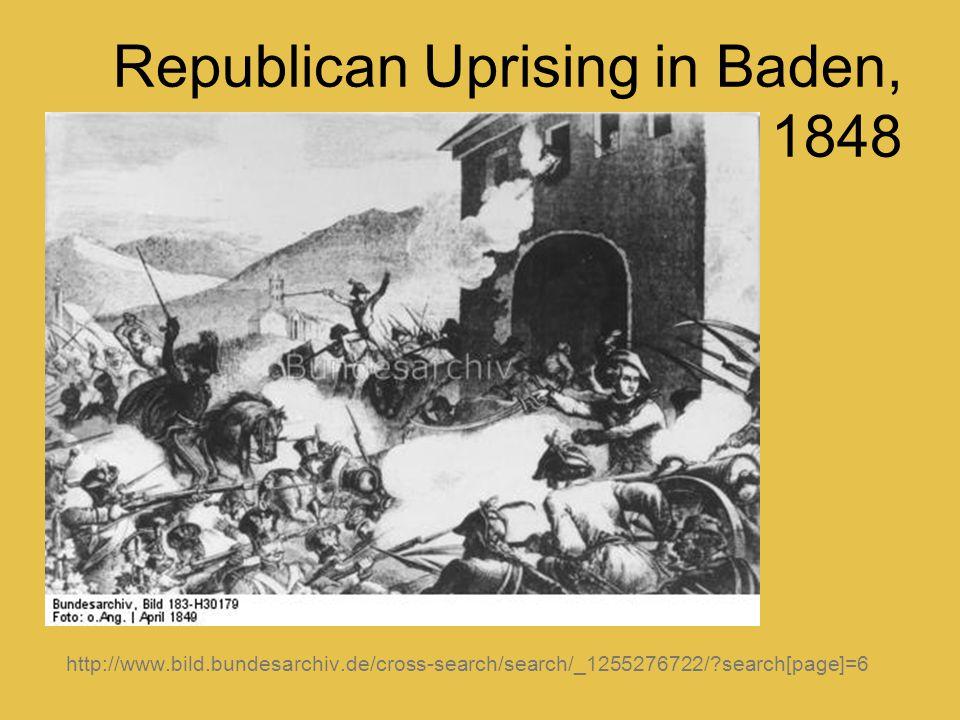 Republican Uprising in Baden, 1848 http://www.bild.bundesarchiv.de/cross-search/search/_1255276722/?search[page]=6