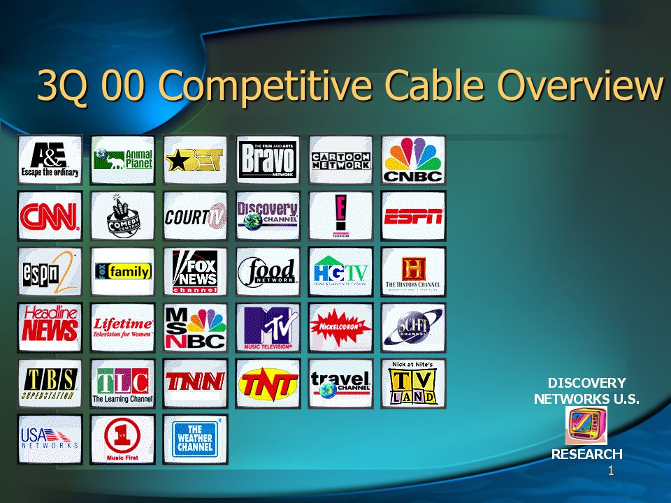 1 3Q 00 Competitive Cable Overview