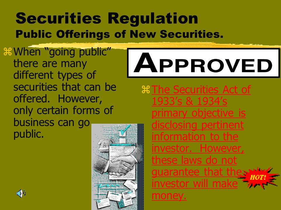 Chapter 19-Securities