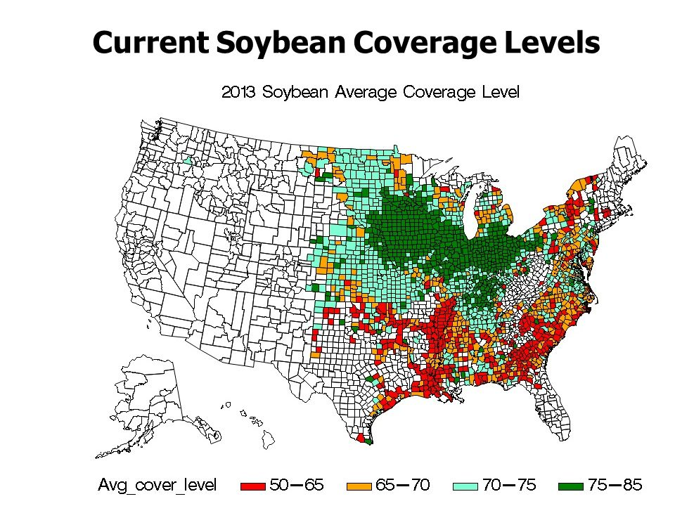 Current Soybean Coverage Levels