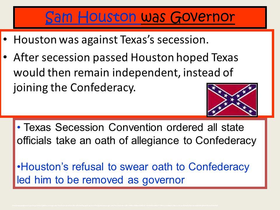 1861: Secession Map
