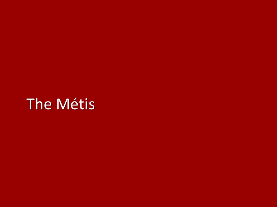 According to the 2006 census, Métis account for 34% of the Aboriginal population.