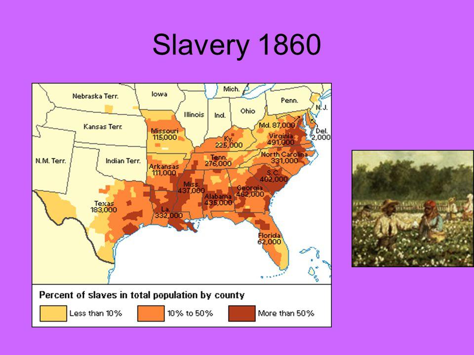 Slavery 1860