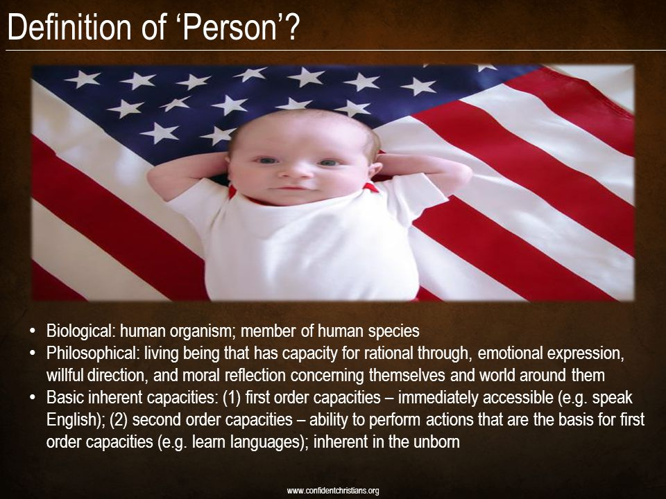 Definition of 'Person'.