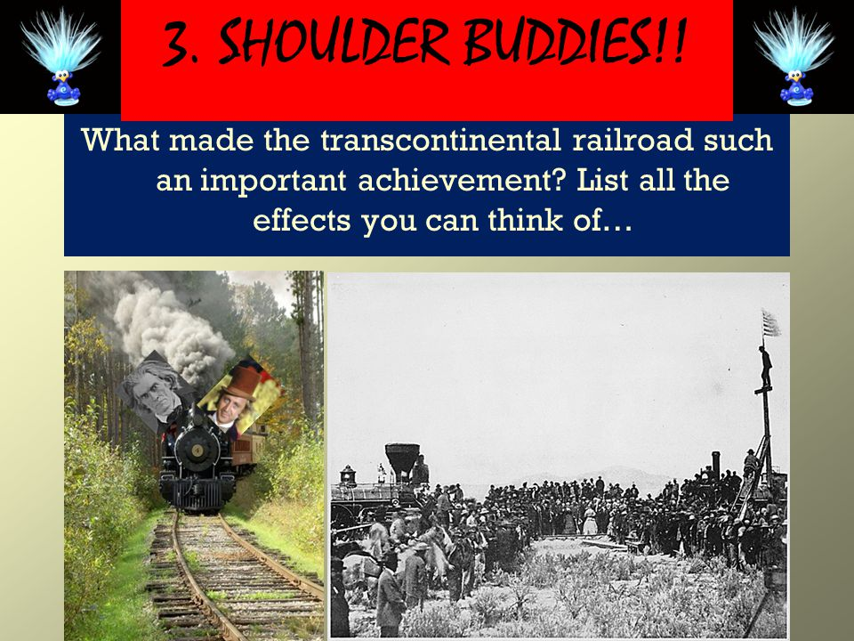 What made the transcontinental railroad such an important achievement.