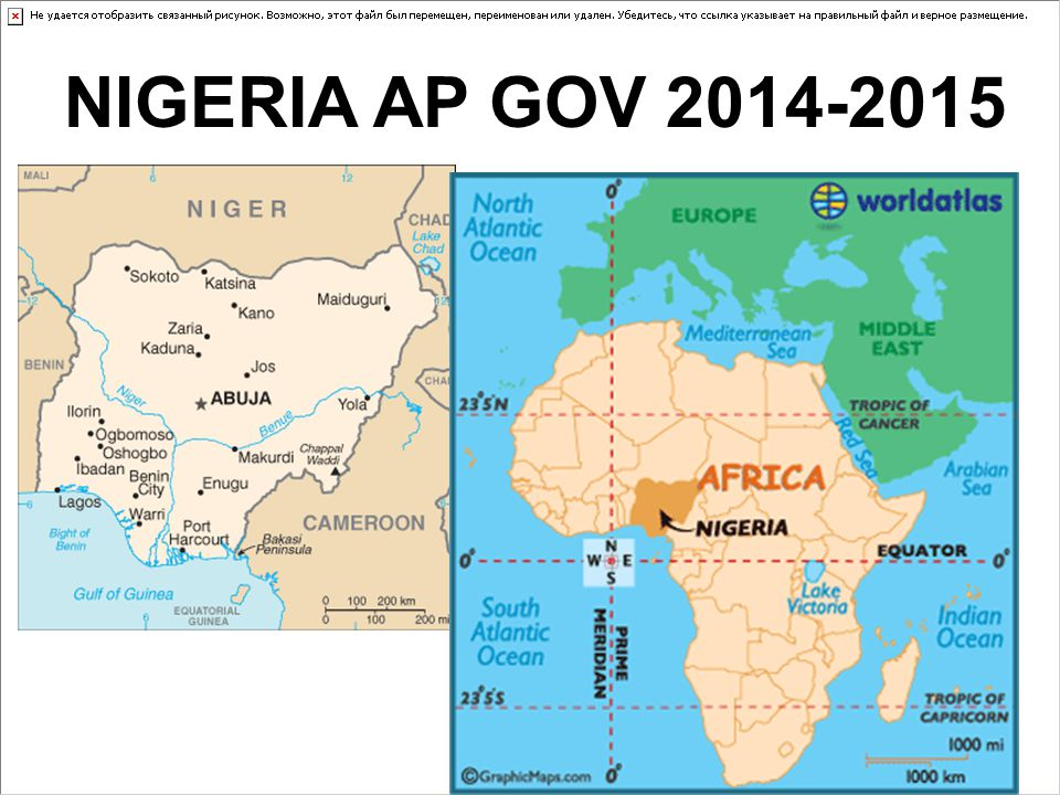 NIGERIA AP GOV 2014-2015