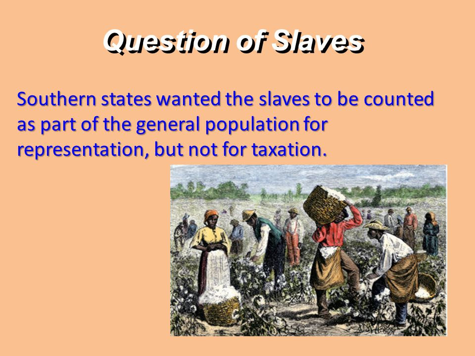 A and B Discuss Can you predict how the northern states reacted to the southern states wanting to count their slaves for population purposed, but not for taxation.