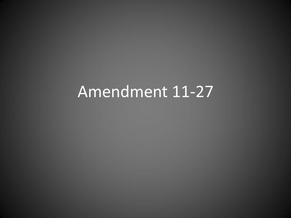 Amendment 11-27