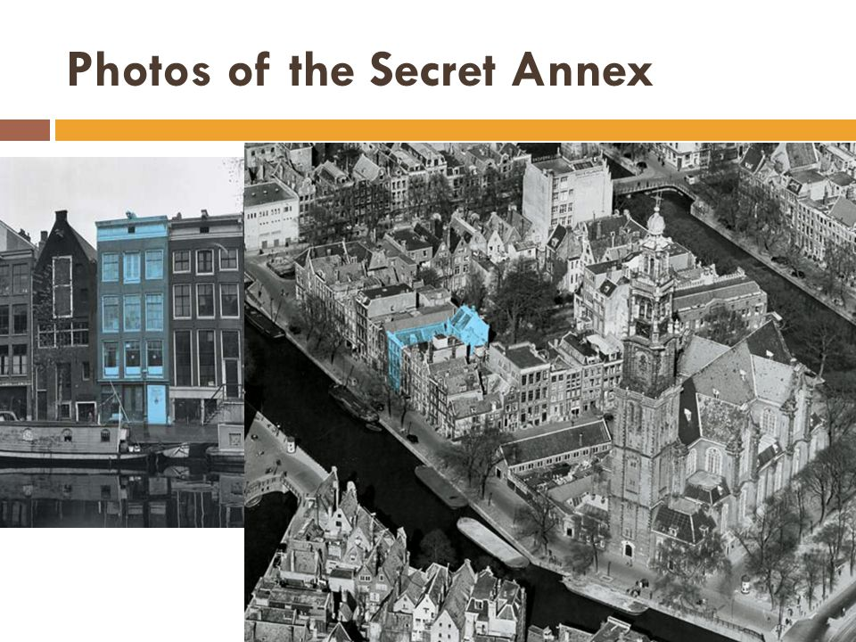 Photos of the Secret Annex