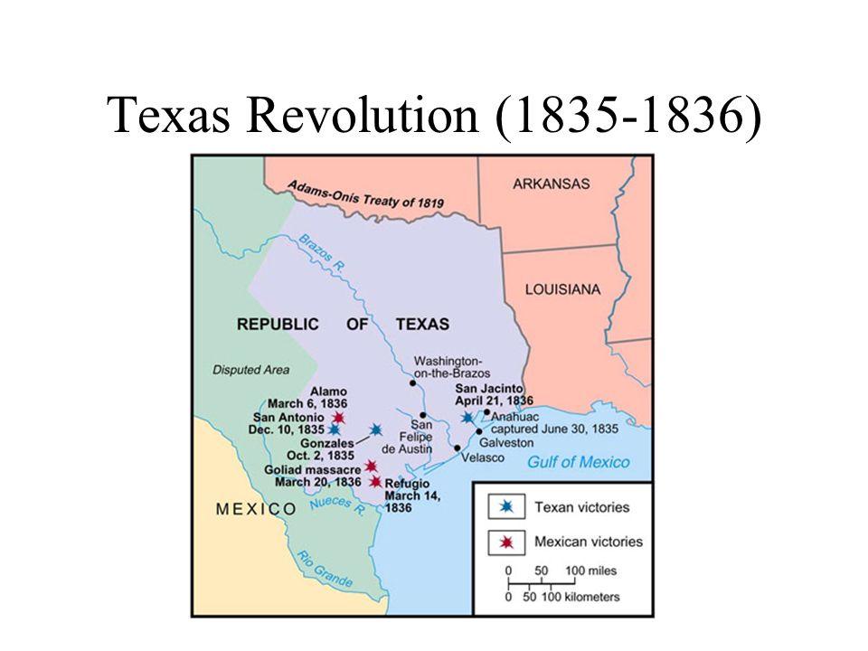 Texas Revolution (1835-1836)