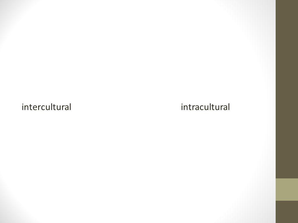 interculturalintracultural