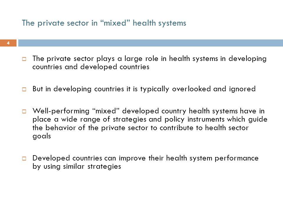 Source: Maynard 2005 FranceGermanyNetherlandsUK HospitalsOwnership Financing Pub.