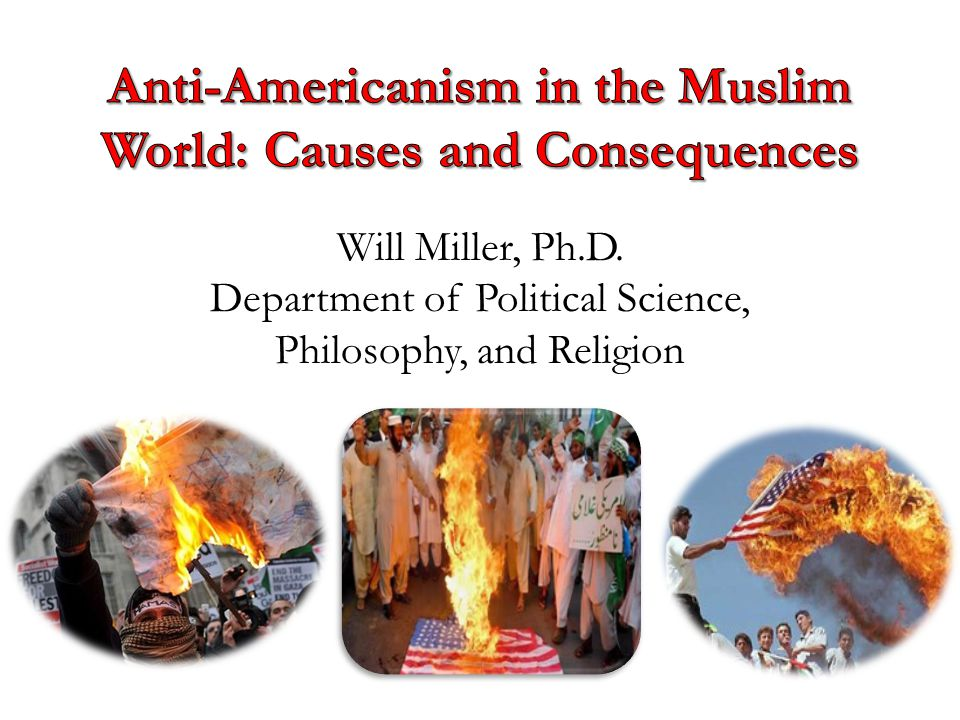 Will Miller, Ph.D. Department of Political Science, Philosophy, and Religion