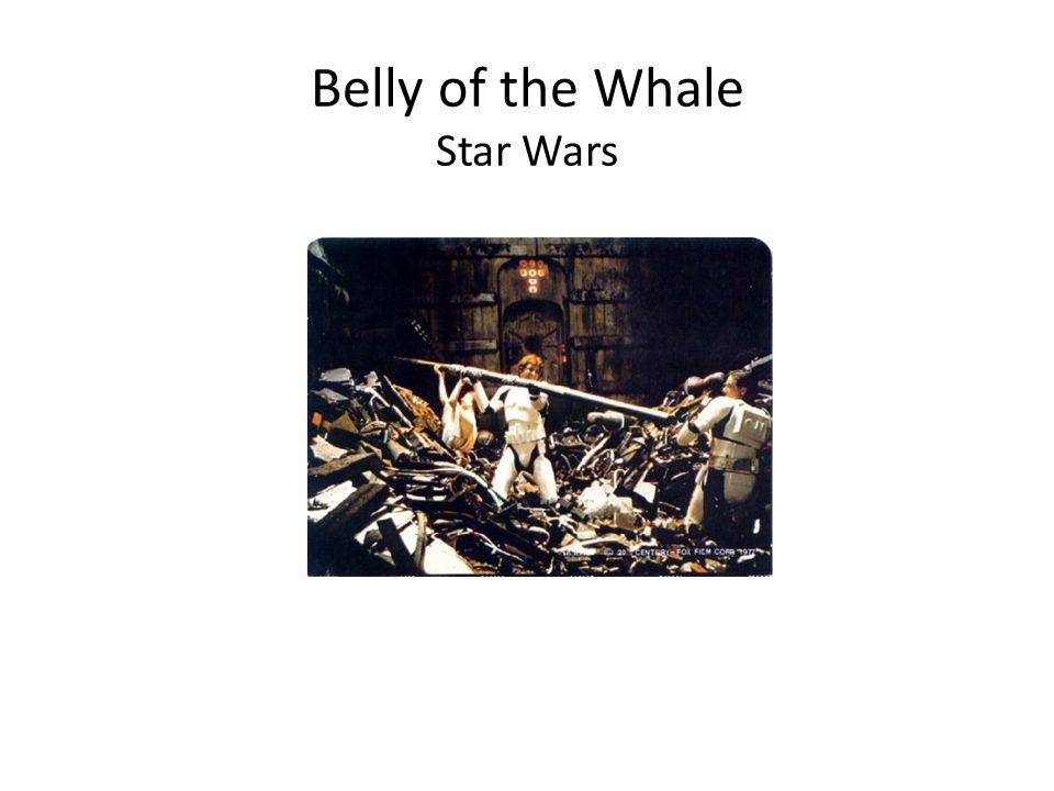 Belly of the Whale Star Wars