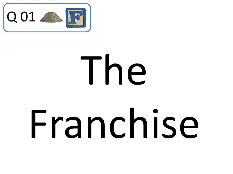 The Franchise Q 01