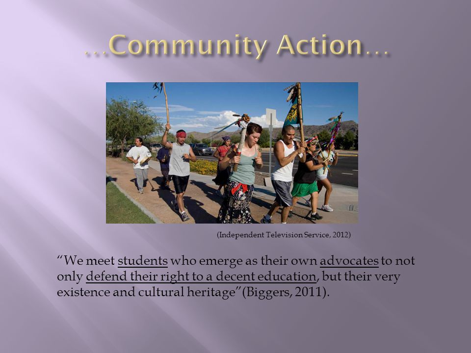Far from any radical agenda, as Tucson Unified School District administrator Dr.