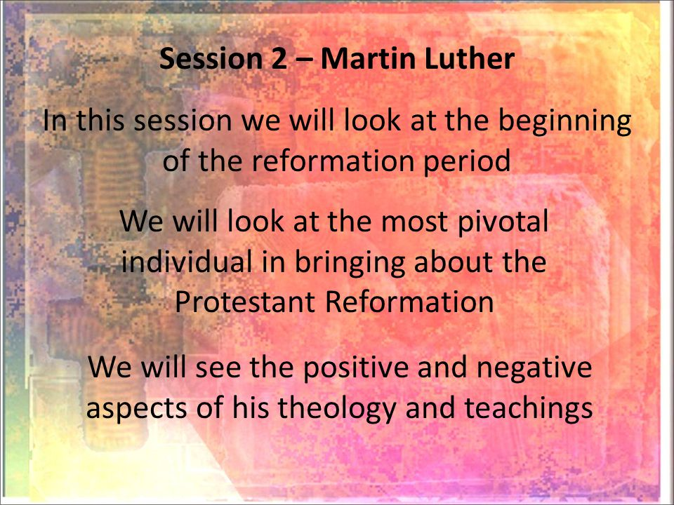 Luther grew up in a poor family, and was sent to the university to become a Lawyer, after a while there he became a Monk, and after being a Monk he started to question certain doctrines of the Catholic church Martin Luther born in Saxony, in 1483