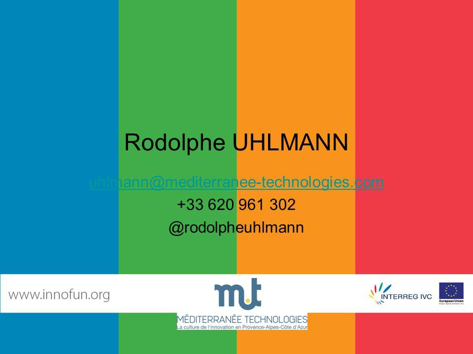 Rodolphe UHLMANN uhlmann@mediterranee-technologies.com +33 620 961 302 @rodolpheuhlmann