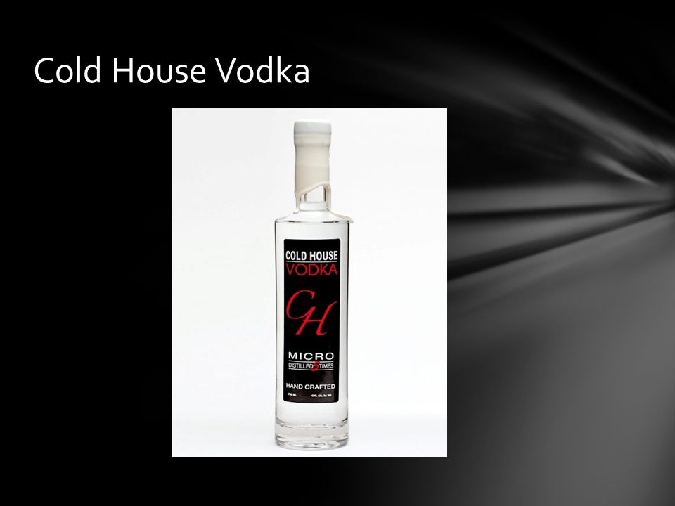 Cold House Vodka