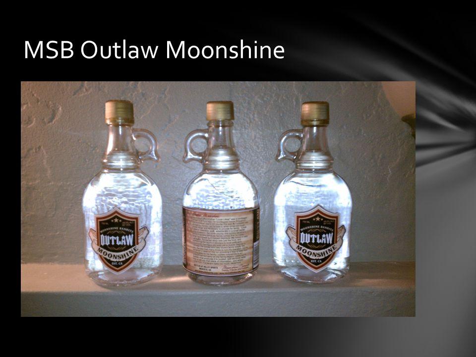 MSB Outlaw Moonshine