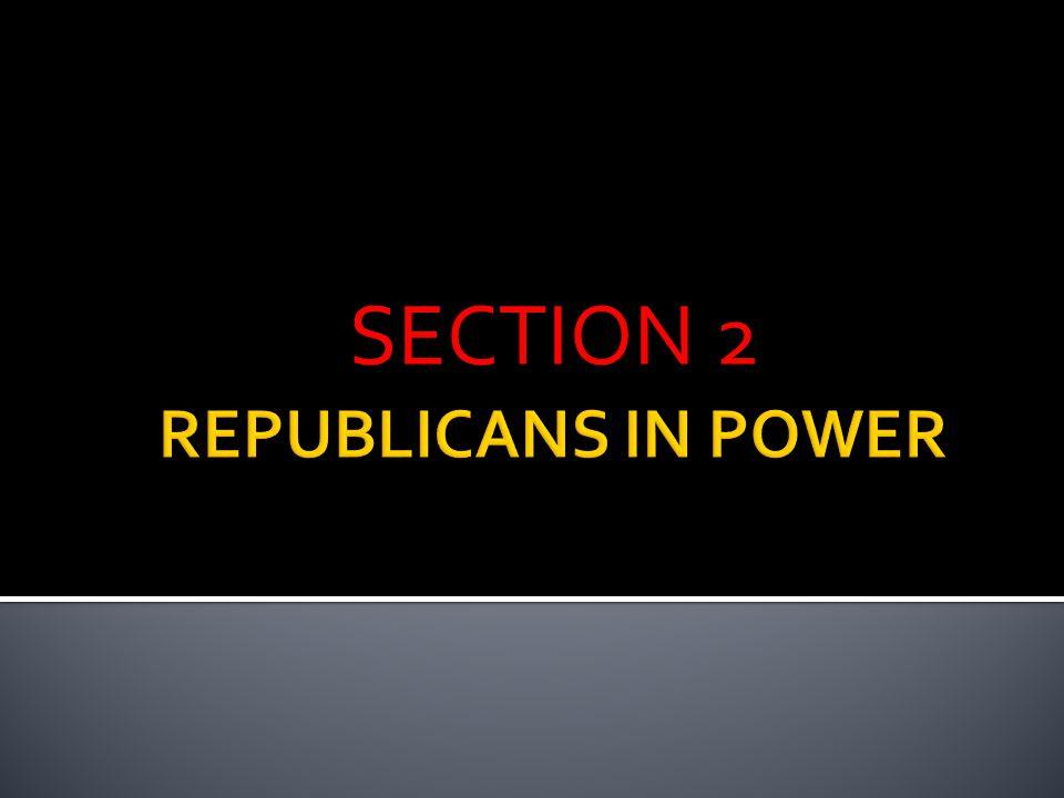  1920 ELECTION, REPUBLICANS CHOSE OHIO SENATOR WARREN G.