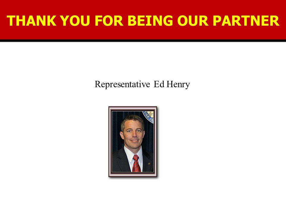 Representative Ed Henry