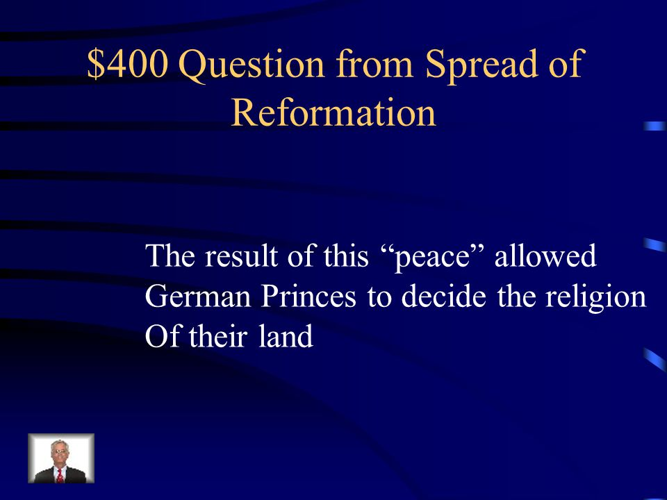 $300 Answer Who are the Anabaptists?