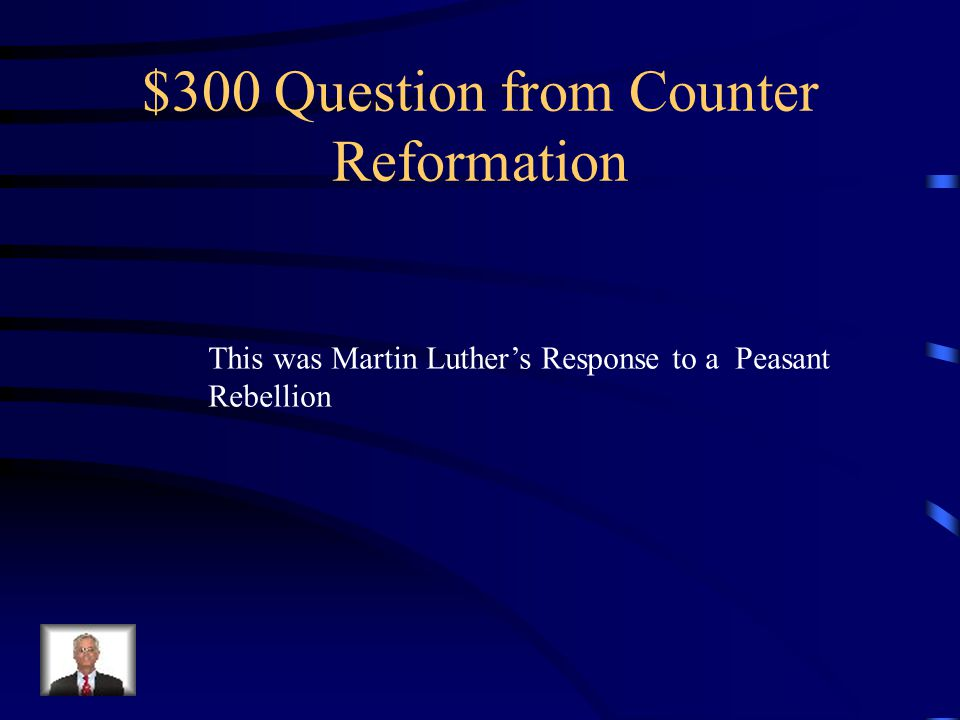 $200 Answer What is Council of Trent
