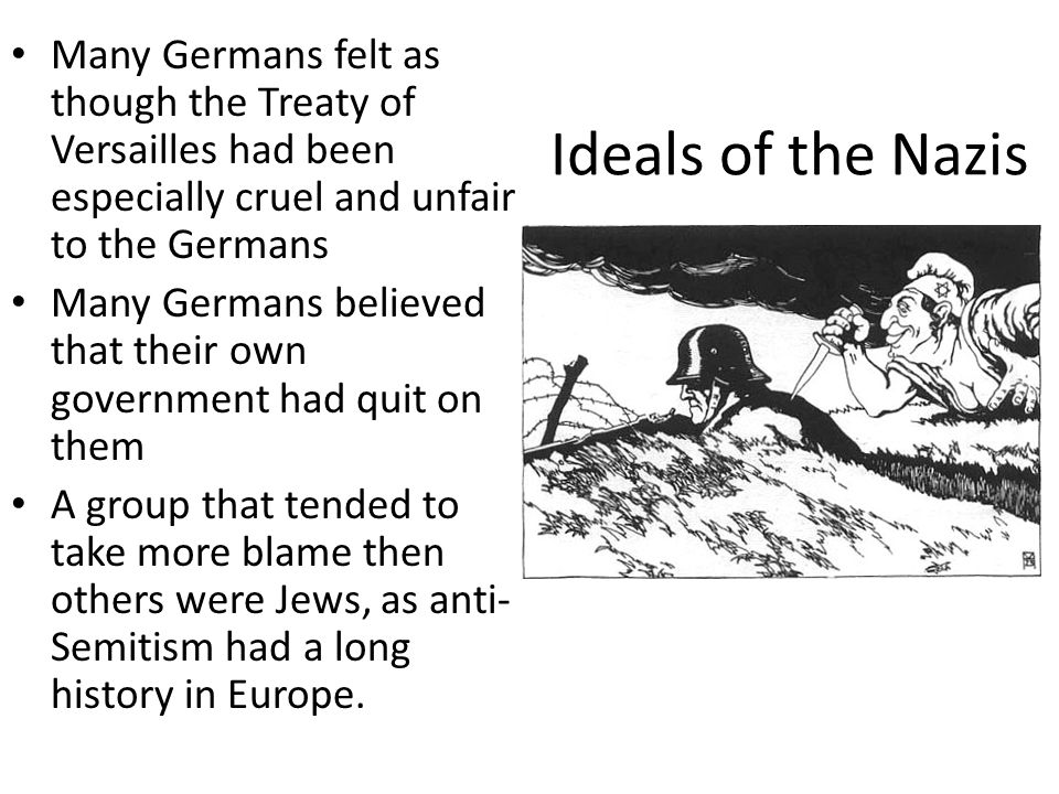 After Jail After Hitler got out of jail he made a vow: if he gained control of Germany it would be 100% legal (He kept this promise) He would go about legally trying to take control of Germany However, despite his party's platform the Nazi party had little success… until the Depression