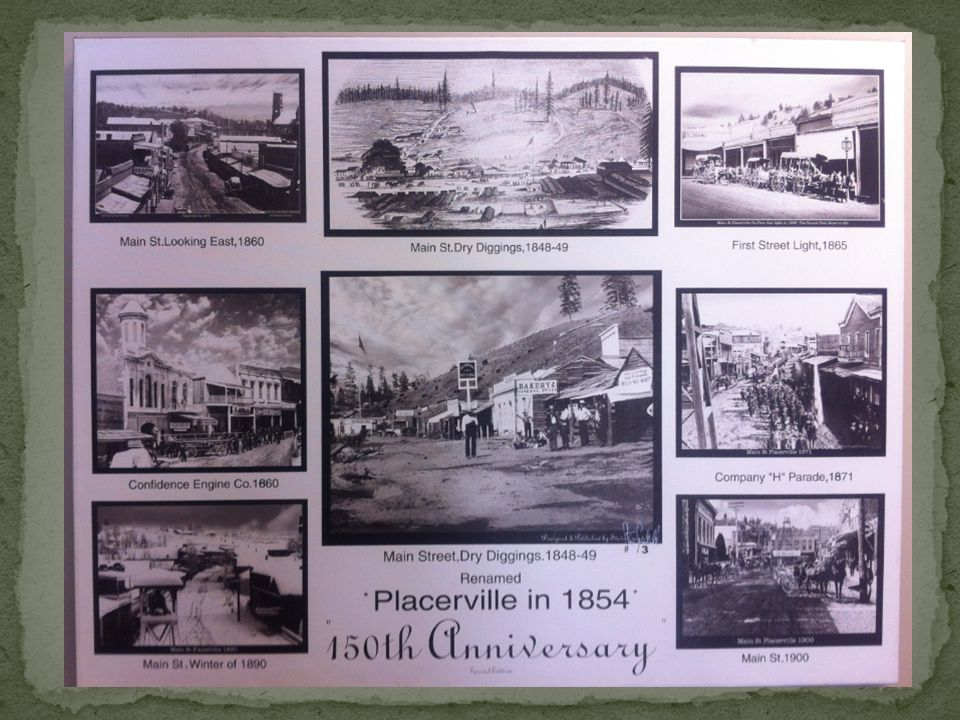 Hangtown, CA 1850