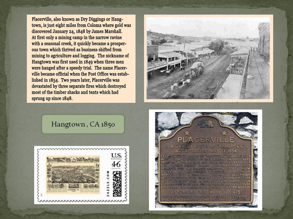 END James Mason Diary HANGETOWN Placerville, CA, September 14, 1850