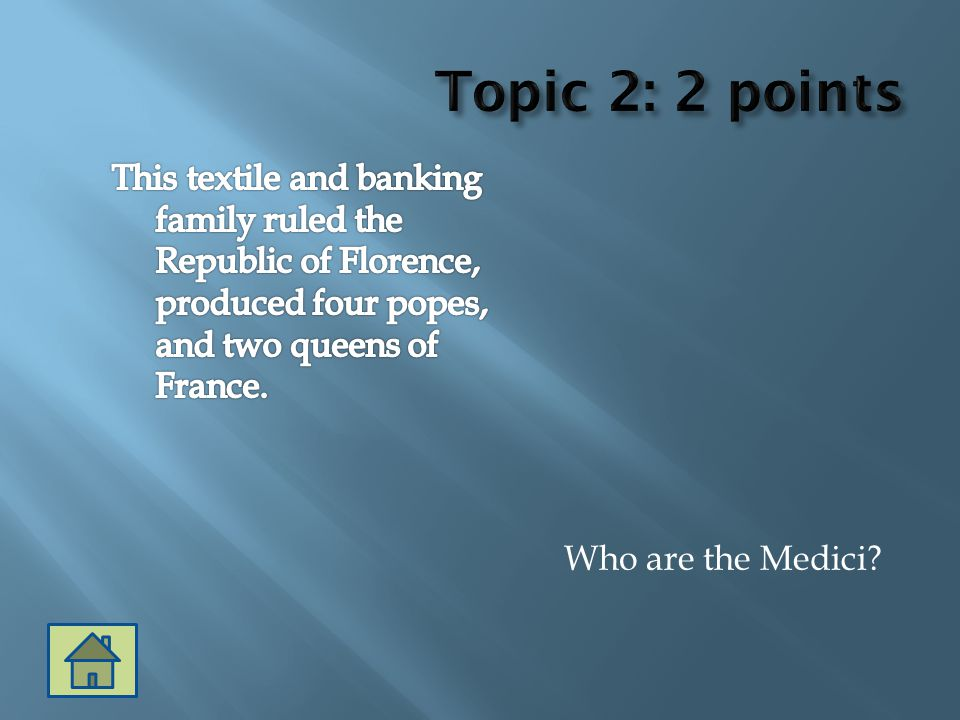 Who are the Medici