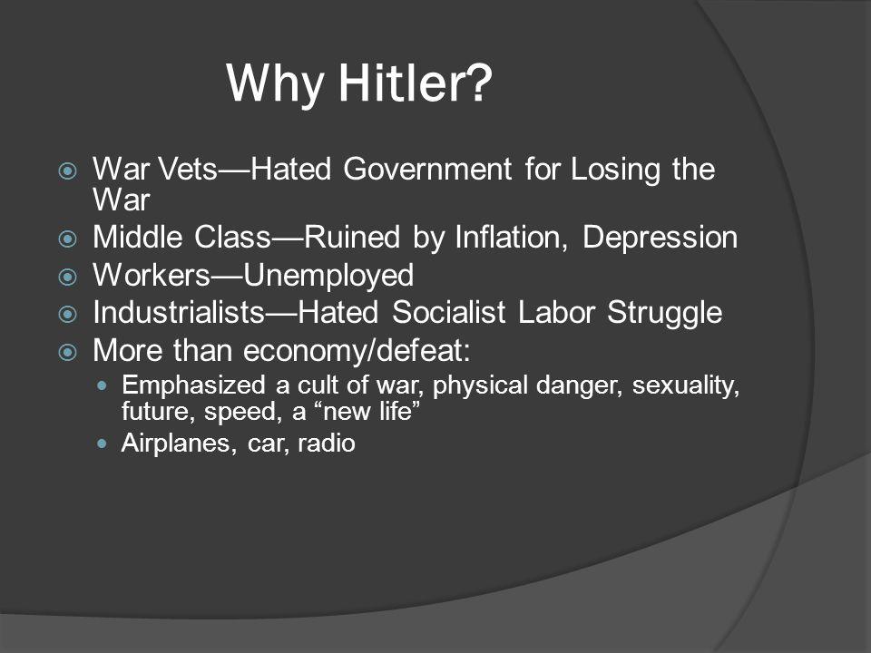 Why Hitler.
