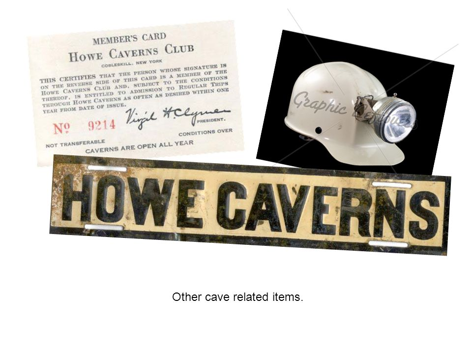 Other cave related items.
