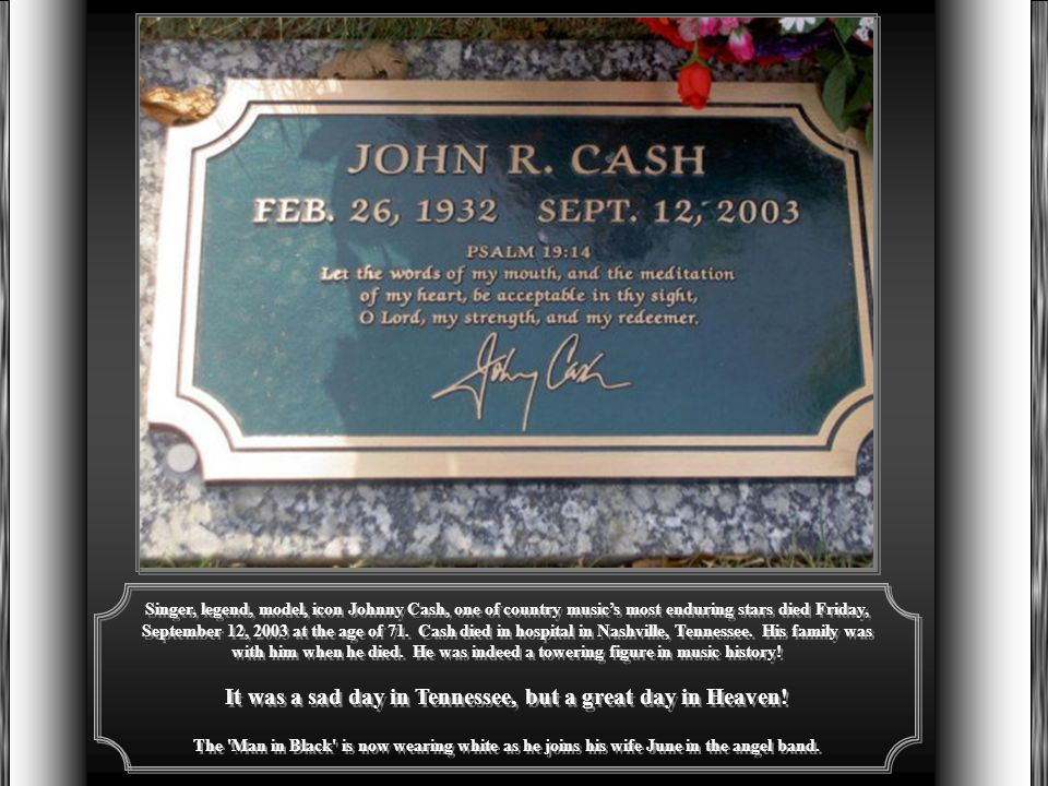 For over 50 years Johnny Cash wrote and sang about the lives of hard-scrabble farmers, homeless drifters, broken-down cowhands, broken-hearted lovers and men behind bars.