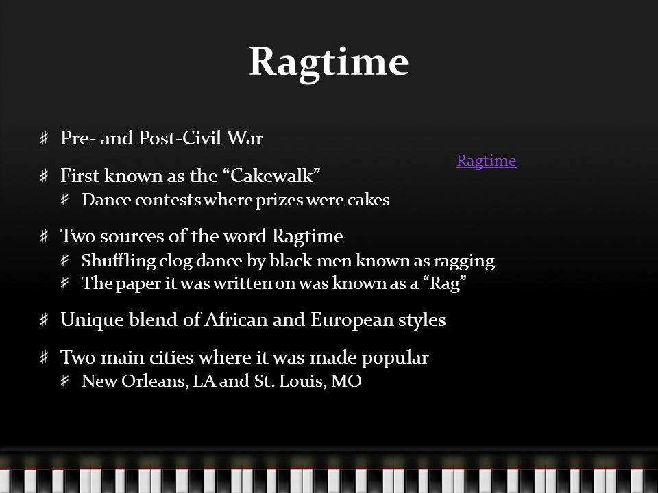 Ragtime Example Back