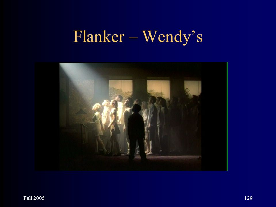 Fall 2005129 Flanker – Wendy's