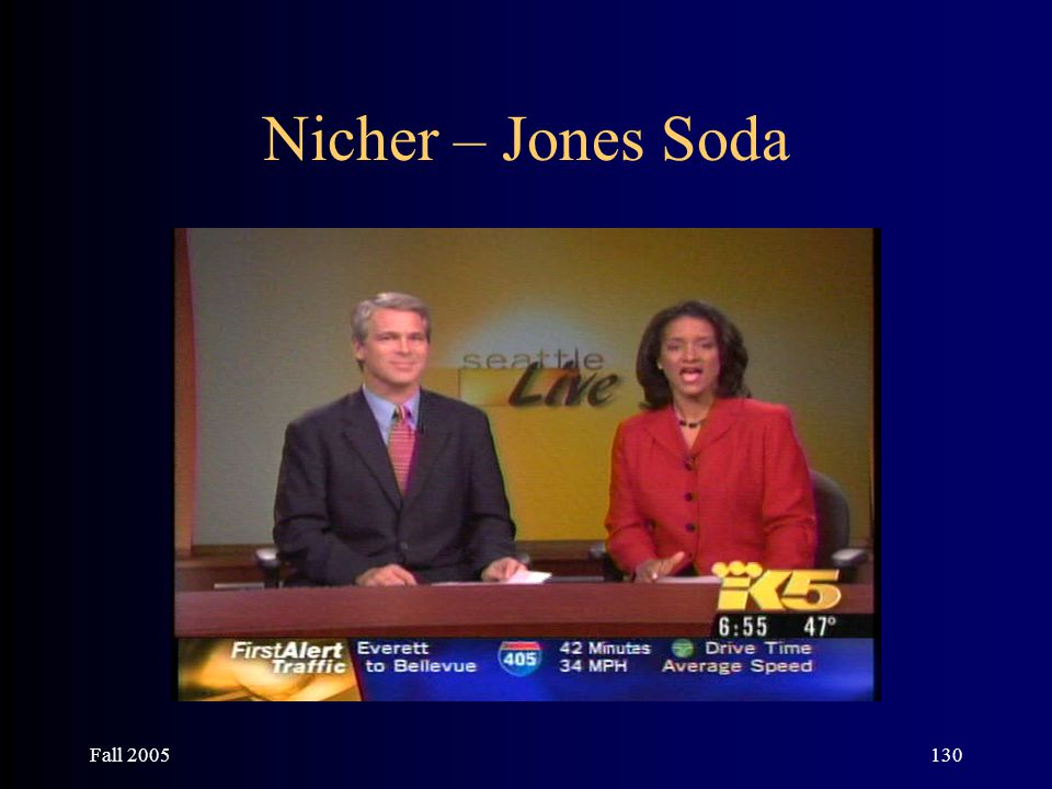 Fall 2005130 Nicher – Jones Soda
