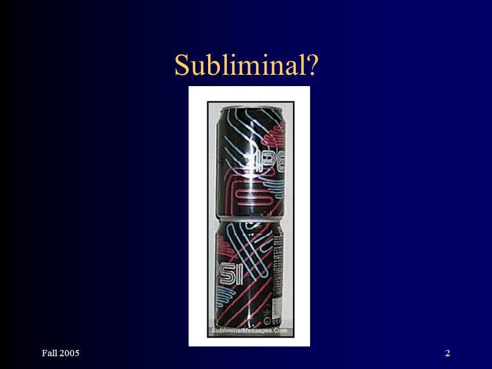 2 Subliminal