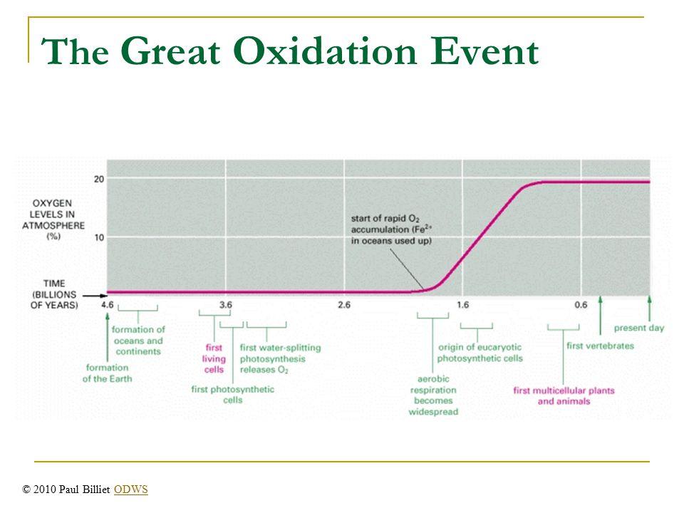The Great Oxidation Event © 2010 Paul Billiet ODWSODWS
