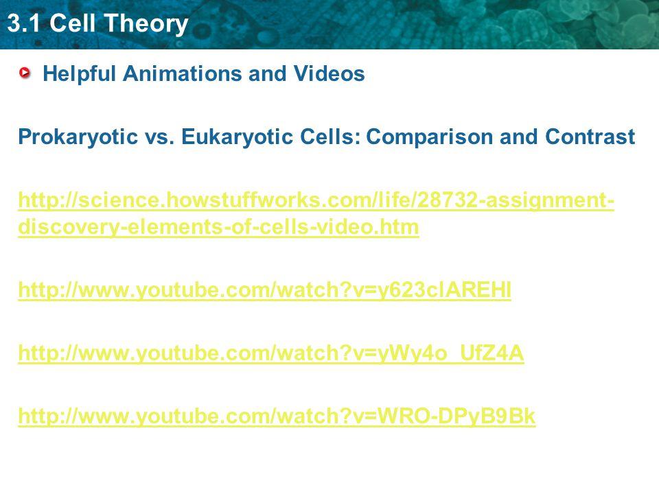 Helpful Animations and Videos Prokaryotic vs.