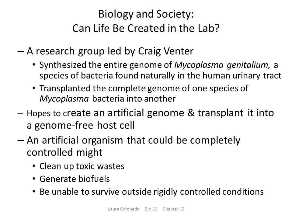 Bioterrorism – Humans have a long and ugly history of using organisms as weapons.