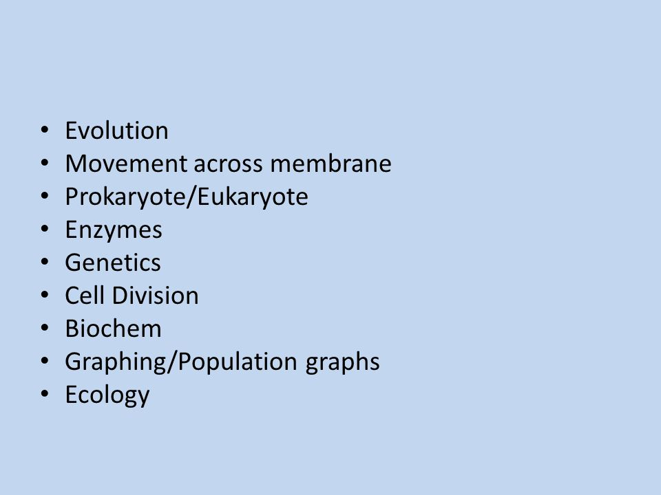 1.Which statement best describes a difference between prokaryotic cells and eukaryotic cells.
