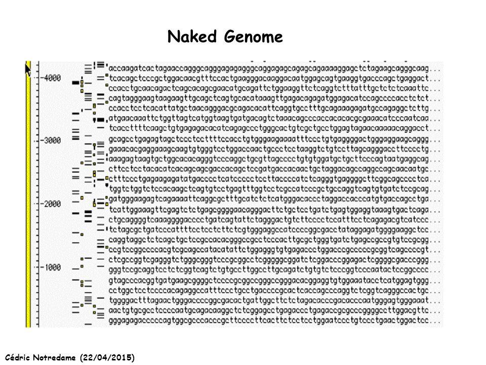 Cédric Notredame (22/04/2015) Naked Genome