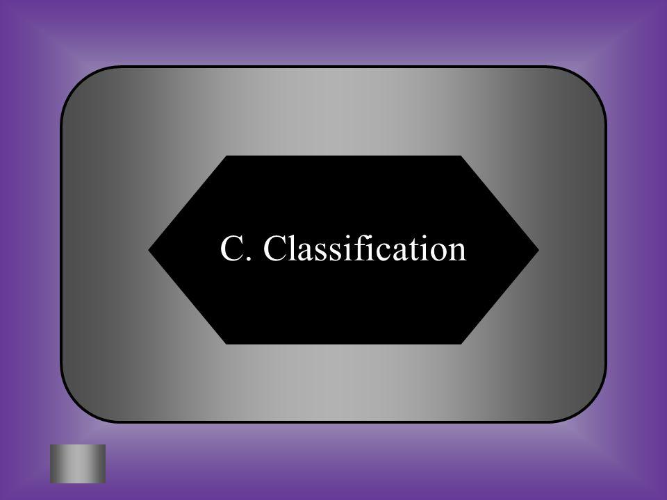 C. Classification