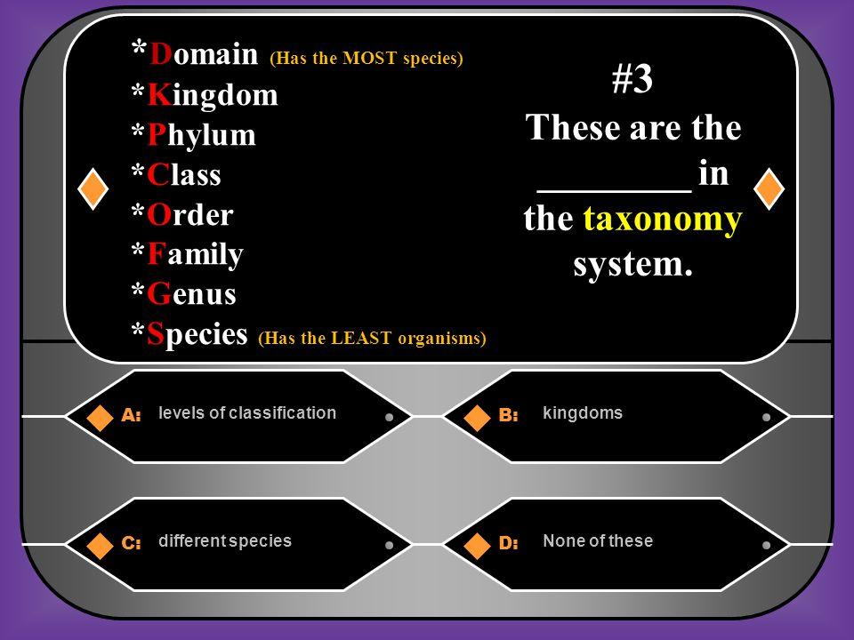 A:B: True False #23 Do horseshoe crabs and flies belong to the same phylum?