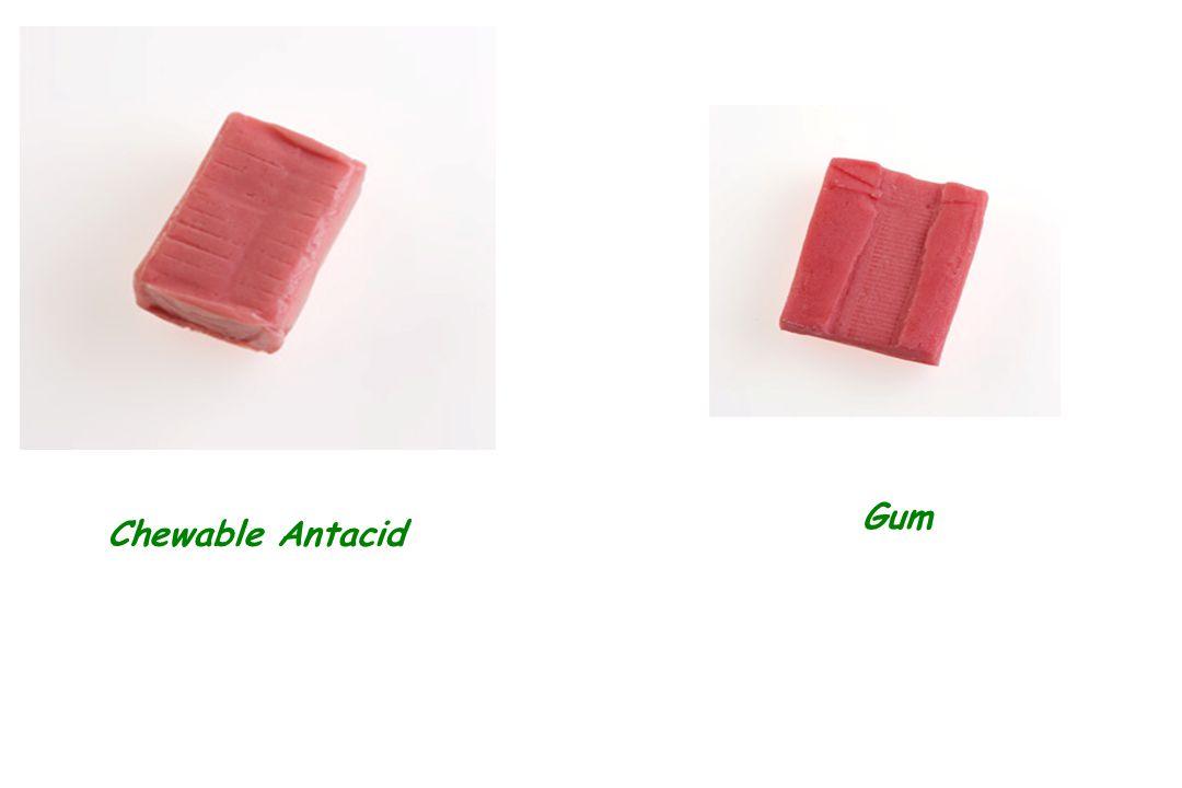 Chewable Antacid Gum