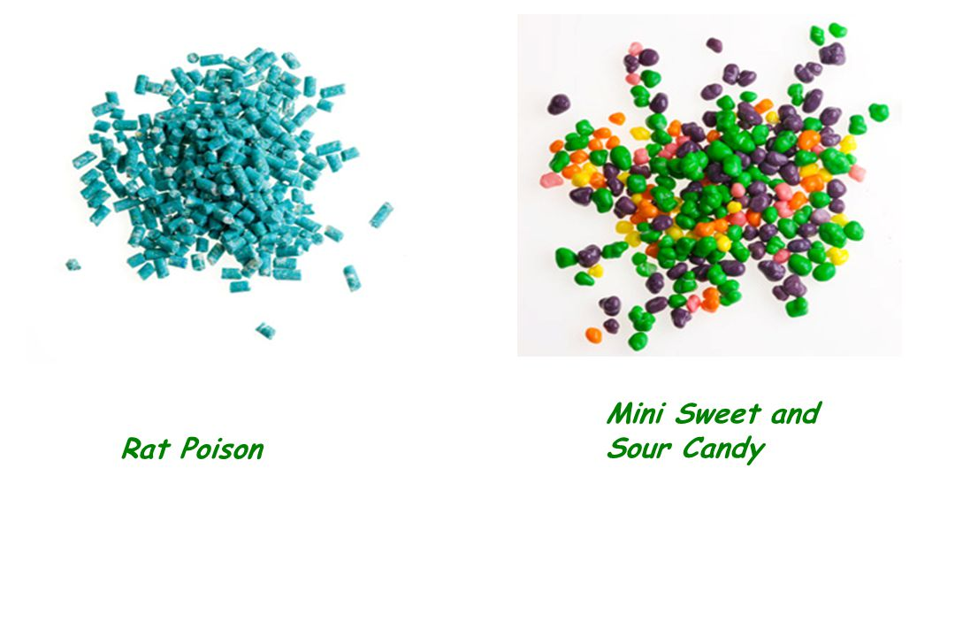 Rat Poison Mini Sweet and Sour Candy
