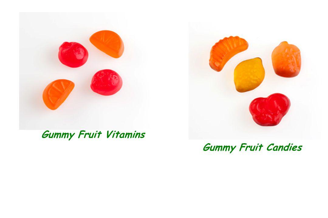 Gummy Fruit Vitamins Gummy Fruit Candies
